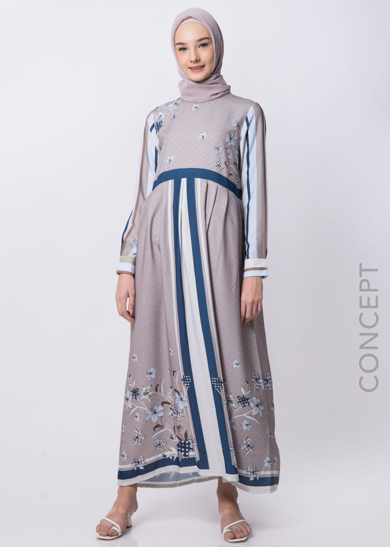 Julia Dress Beige
