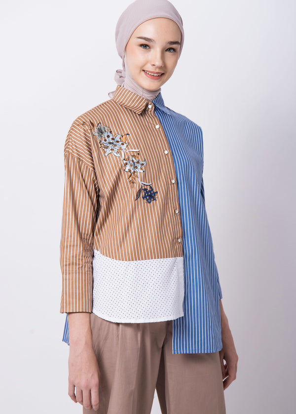 Joanna Shirt Brown