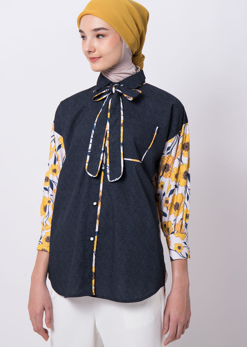 Fallona Shirt Navy