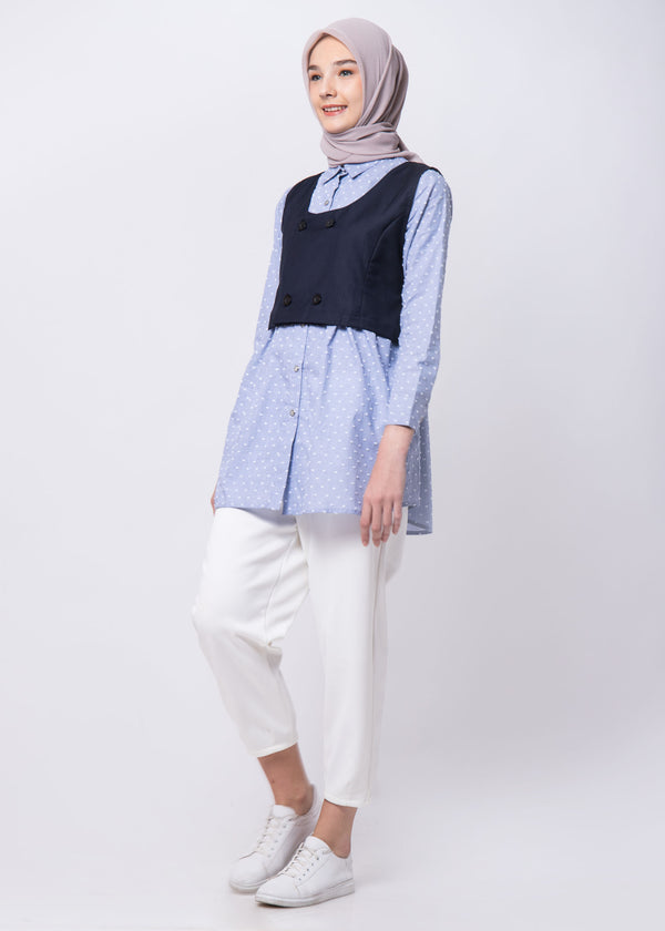 Jecy Shirt Set Blue
