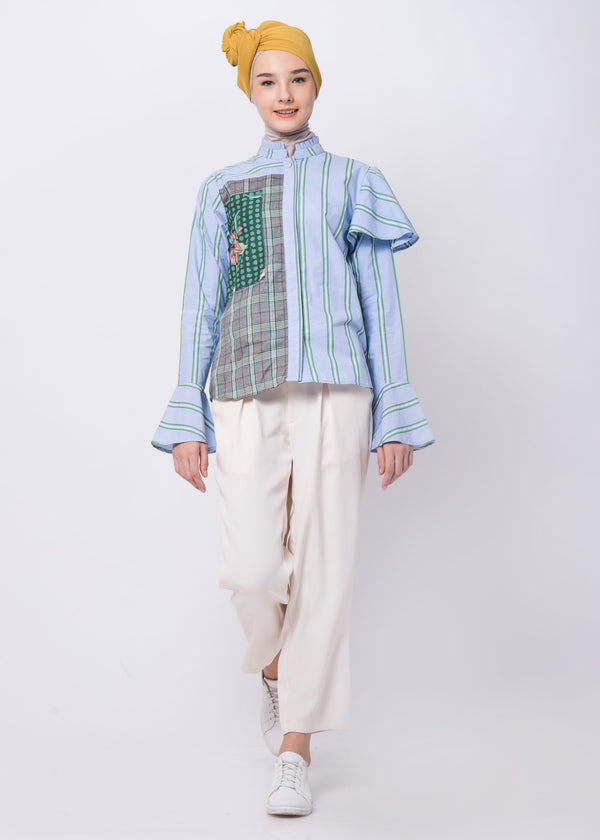 Fransisca Shirt Light Blue