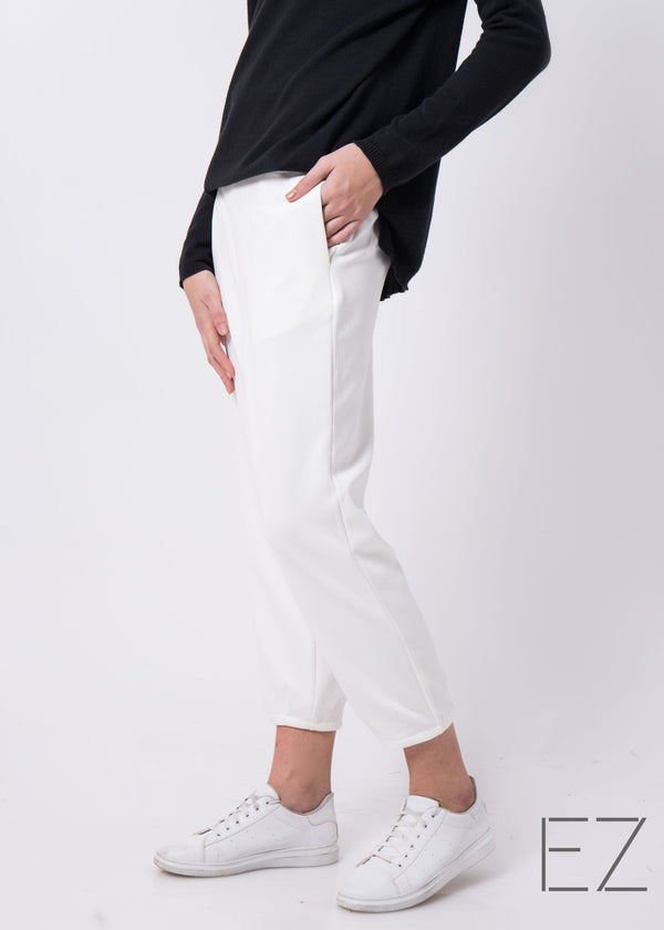 Tacy Pants Broken White