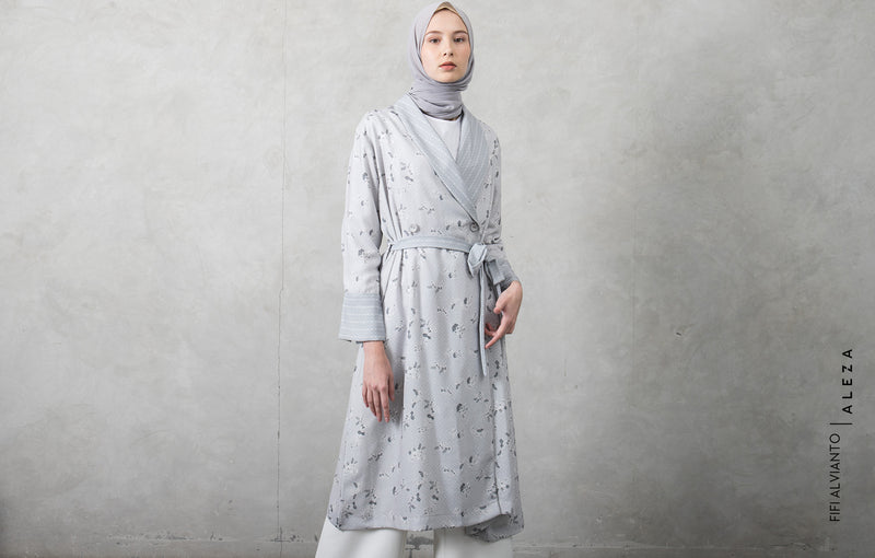 Fiona Tunic Gray