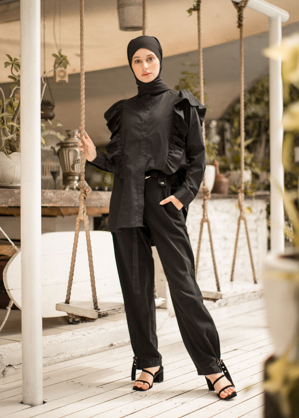 Nivia Shirt Black