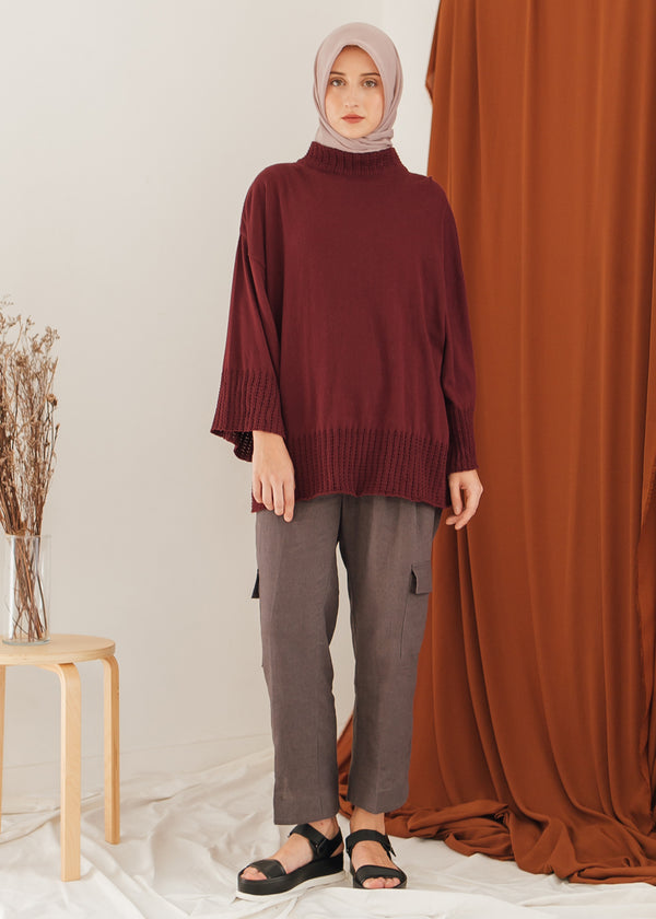 Rava Sweater Maroon