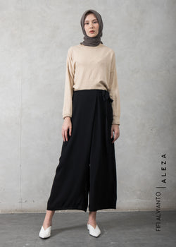 Fixa Drape Pants Black