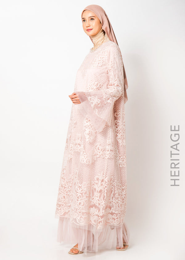 Adela Dress Soft Pink