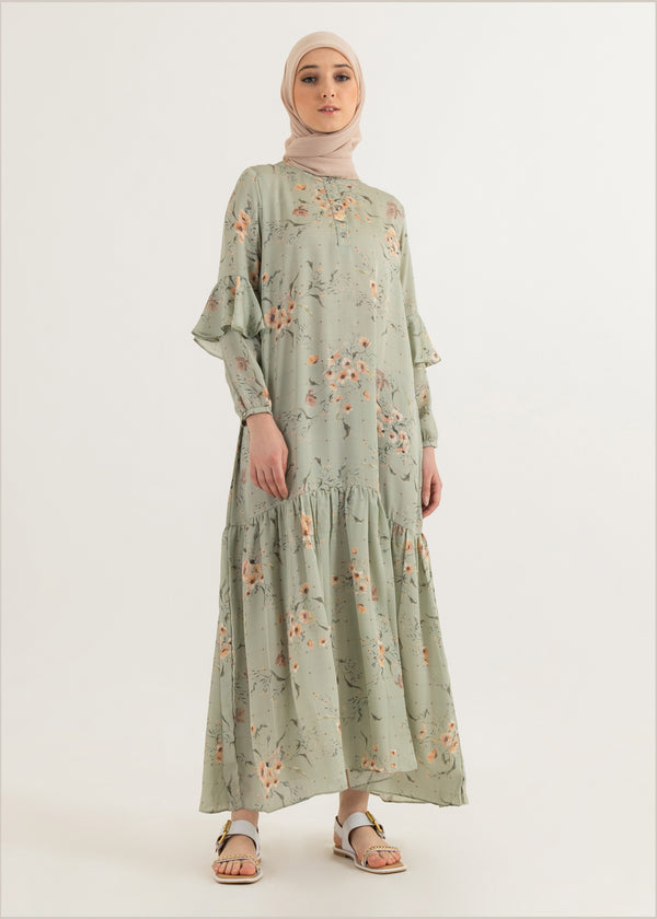 Navisha Dress Mint