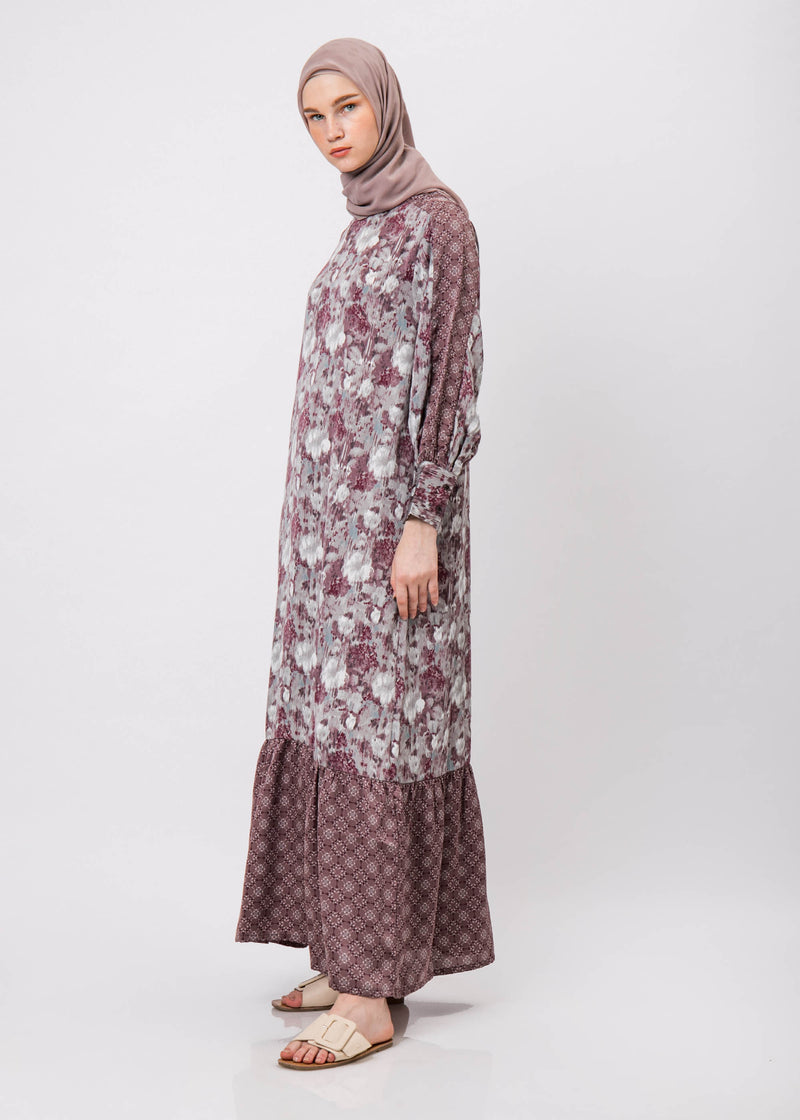Afiya Dress Mauve