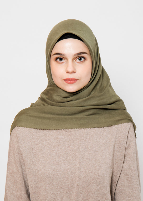 Navisa Scarves Moss Green