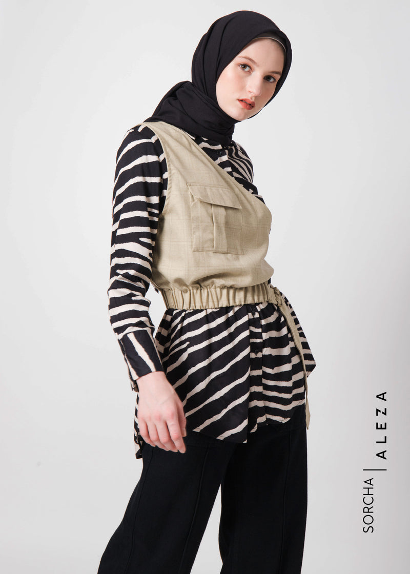 Sizera Shirt Set Beige