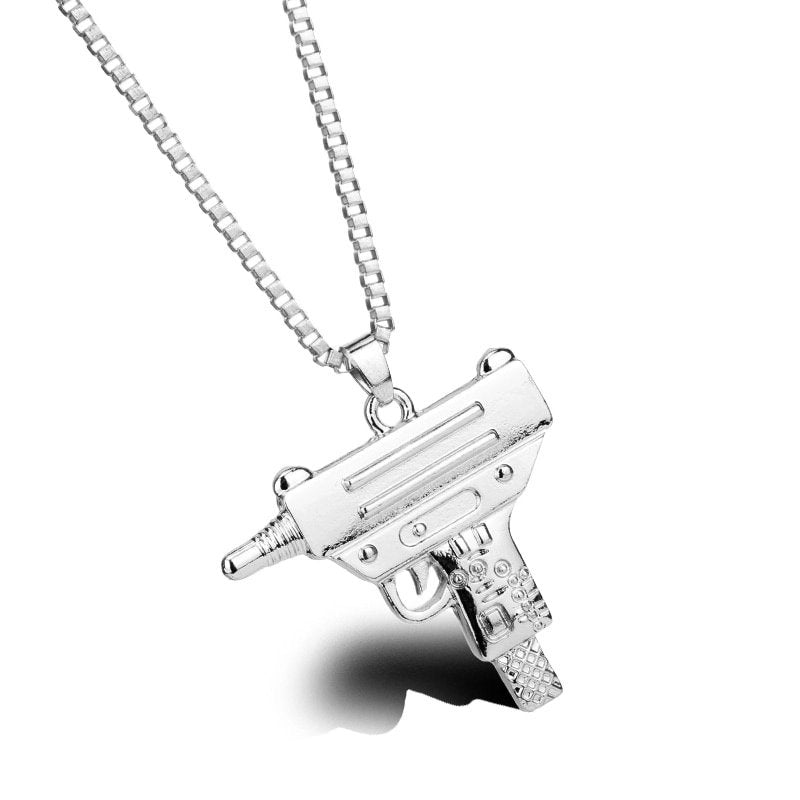 Uzi Submachine necklace