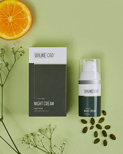 Night Cream (2.5%, 750mg CBD) | 30ml