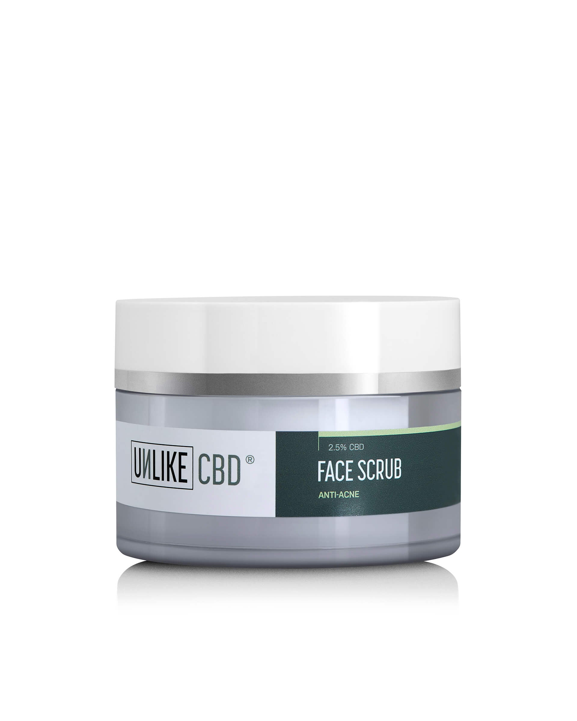 Face Scrub (2.5%, 1250mg CBD) | 50ml