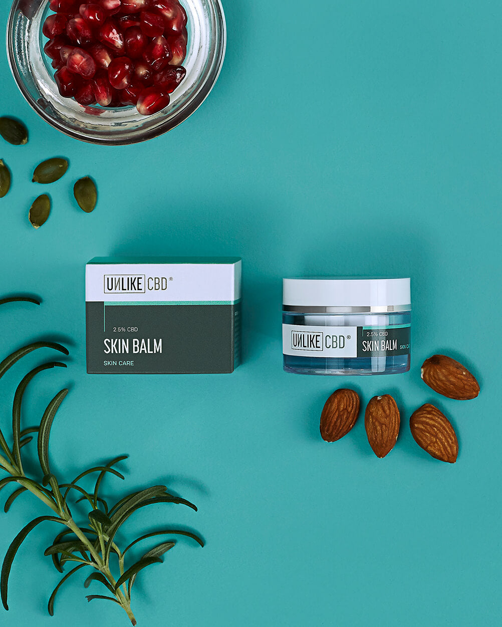 Skin Balm (2.5%, 375mg CBD) | 15ml
