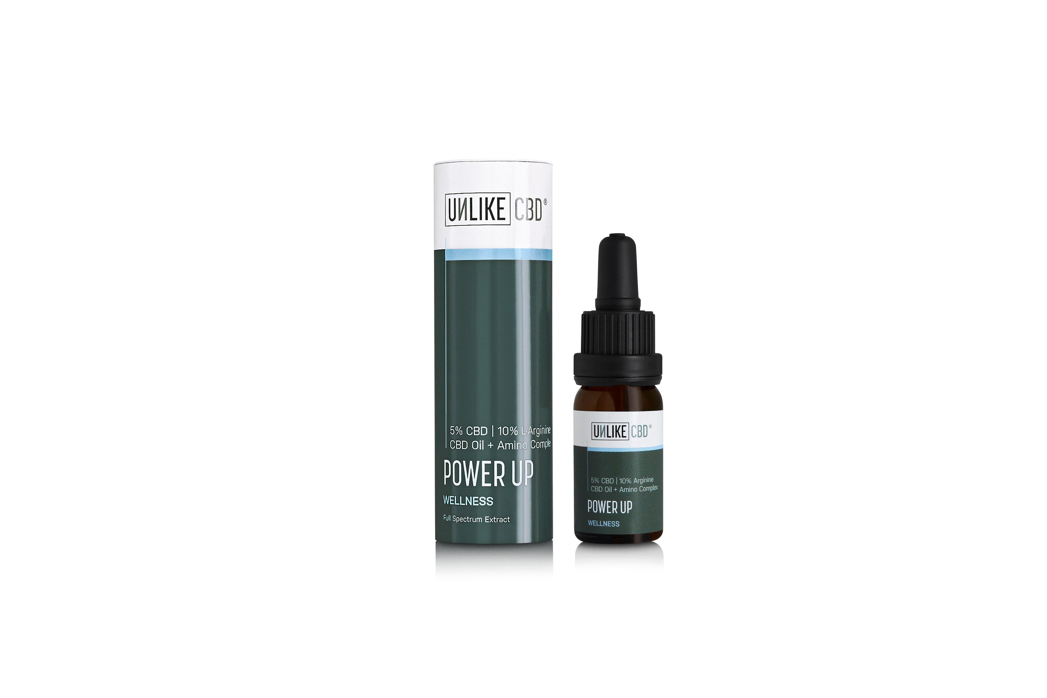 CBD Oil + Power Up (5%, 500mg CBD) | 10ml