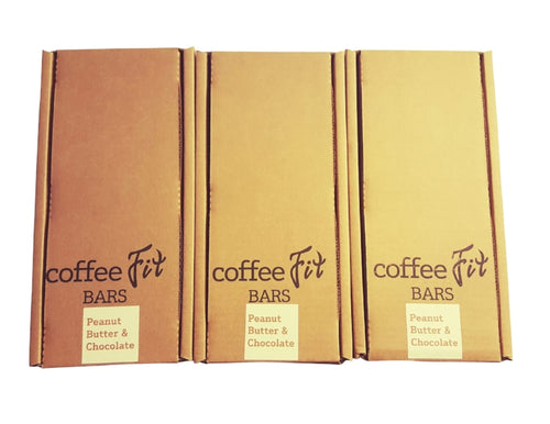 Wholesale CoffeeFit Peanut Butter Chocolate Case (54 bars)