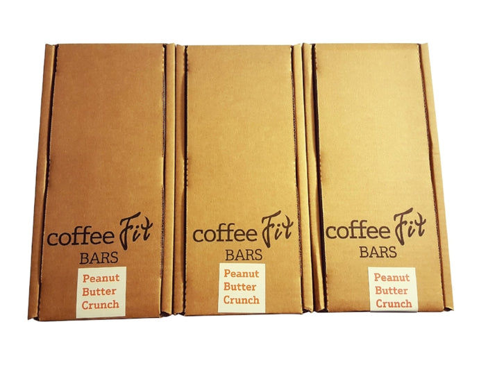 Wholesale CoffeeFit Peanut Butter Crunch Case (45 bars)