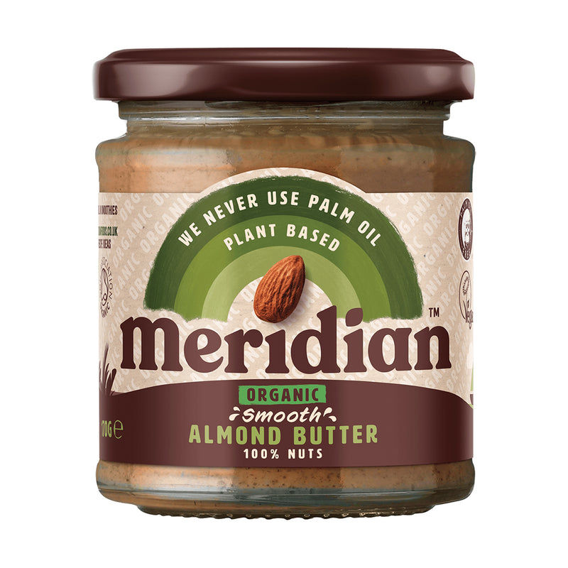 Meridian - Organic Smooth Almond Butter (170g)