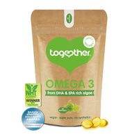 Together - Omega 3 from DHA & EPA Algae (30caps)