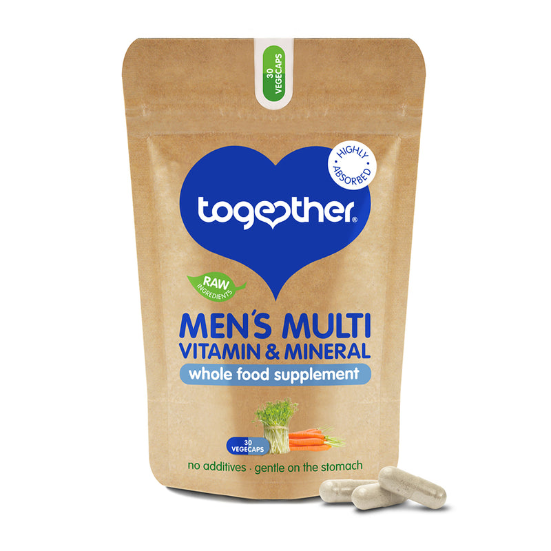Together - WholeVit Men's Multivitamin & Mineral Food Supplement (30caps)