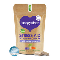 Together - WholeVit Stress Aid Complex Food Supplement (30caps)