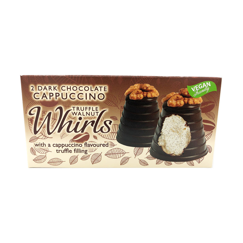 Hadleigh Maid - Dark Chocolate Cappuccino Truffle Walnut Whirls, Twin Pack (90g)