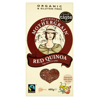 Quinola Mothergrain - Organic & Fairtrade Red Quinoa Grain (400g)