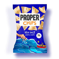 Properchips Sea Salt Lentil Chips (20g)