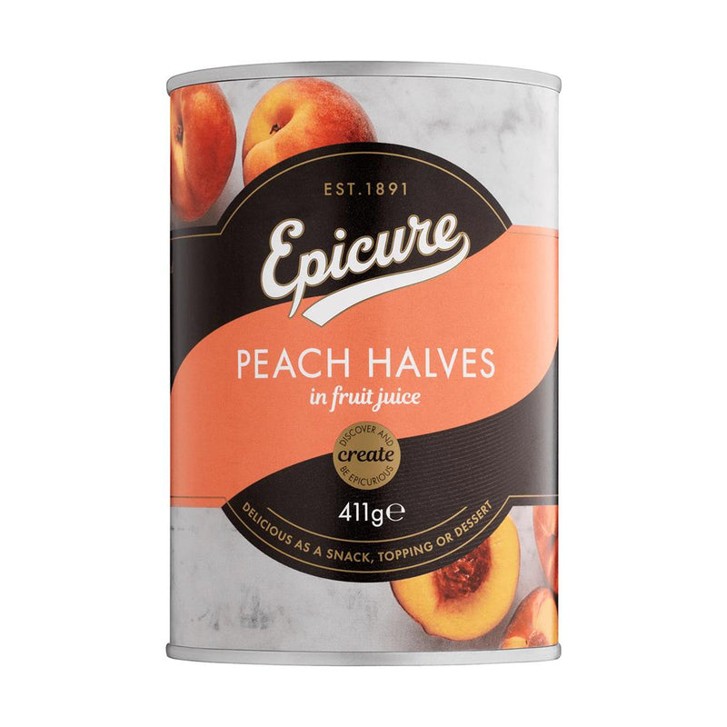 Epicure - Peach Halves in Fruit Juice (410g)