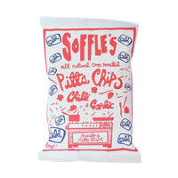 Soffle's - Chilli & Garlic (wild) Pitta Chips (60g)
