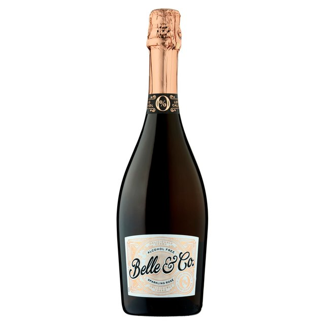 Belle & Co - Alcohol Free Sparkling Rose Wine (750ml)