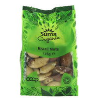 Suma - Organic Whole Brazil Nuts (125g)