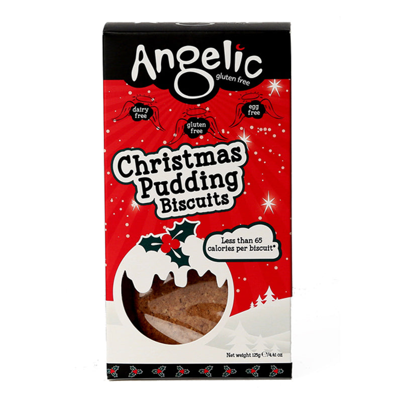 Angelic Gluten Free - Christmas Pudding Biscuits (125g)