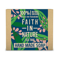Faith In Nature Hand Made Soap, Tea Tree.