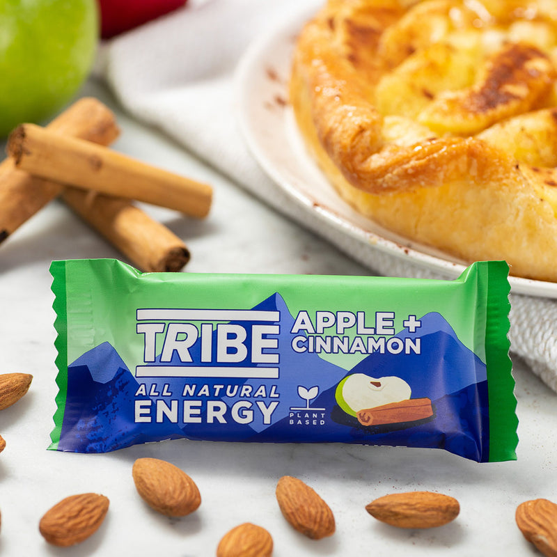 Tribe - Infinity Apple + Cinnamon Natural Oat Bar (47g)
