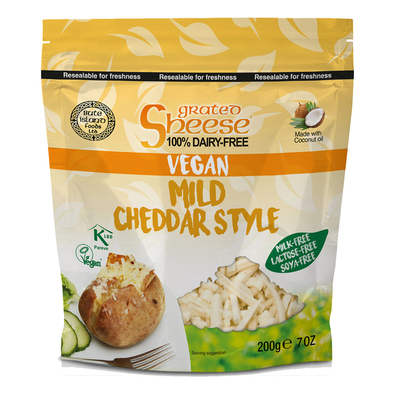 Sheese Grated Cheese (Various) (200g)