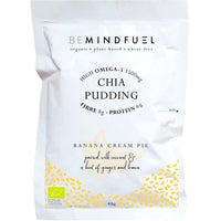 Baking - Mindfuel - Organic Chia Pudding Mix - Banana Cream Pie (40g)