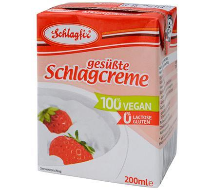 Baking - Schlagfix Schlagcreme - Sweetened Whipping Cream Carton