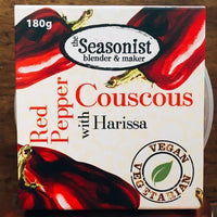 Baking - The Seasonist - Red Pepper Couscous With Harissa (180g)