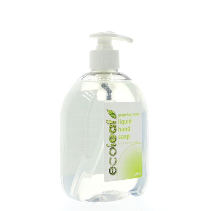 Ecoleaf Grapefruit Twist Liquid Hand Soap (500ml) - TheVeganKind