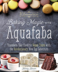 Books - Baking Magic With Aquafaba - Kelsey Kinser