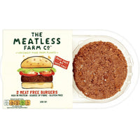 Burgers - Meatless Farm Co - Meat Free Plant Based Burgers (2 Pack) (227g)