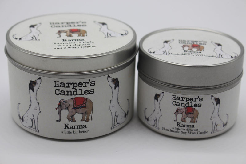 Candles - Harper's Candles - Aromatic Candle - Karma