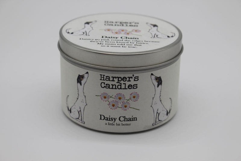 Candles - Harper's Candles - Floral Candle - Daisy Chain