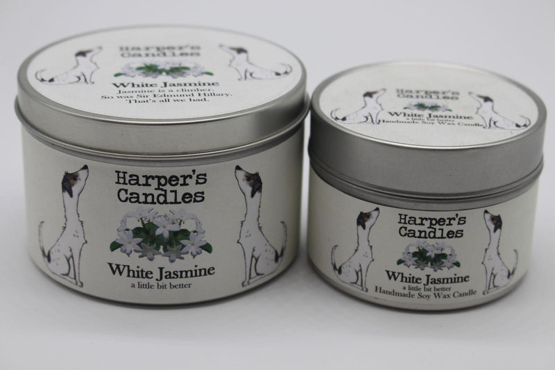 Candles - Harper's Candles - Floral Candle - White Jasmine