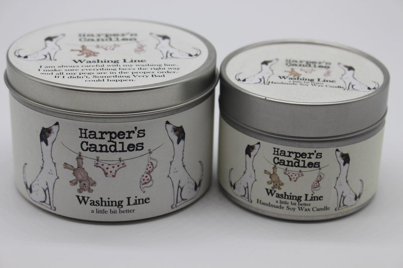 Candles - Harper's Candles - Fresh Candle - Washing Line