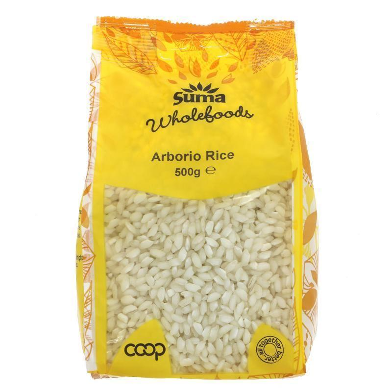 Cereal Grains - Suma - Arborio Rice (risotto) (500g)