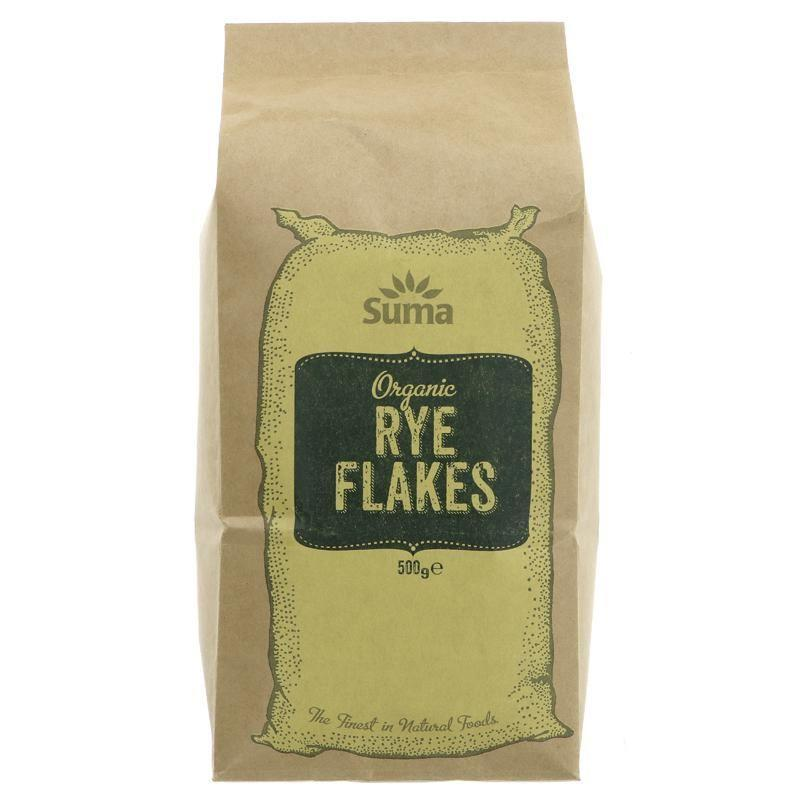 Cereal Grains - Suma - Organic Rye Flakes (500g)