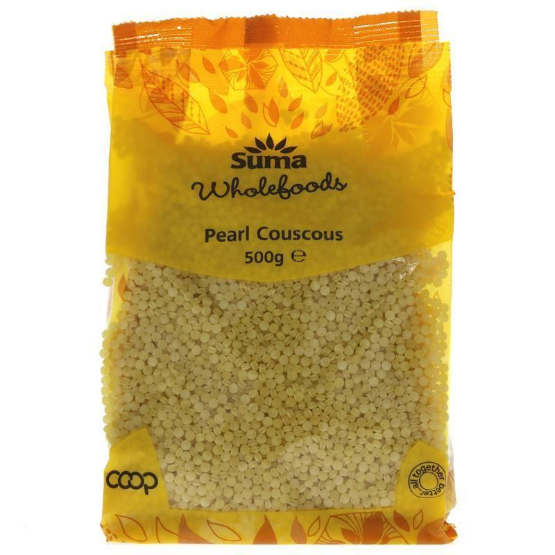 Cereal Grains - Suma - Pearl Couscous (500g)